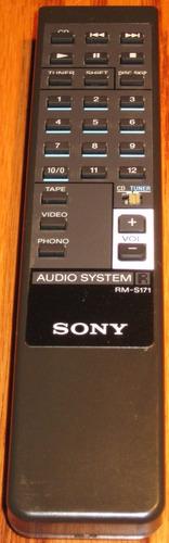 Control Remoto Audio Sony De Los 90 Original