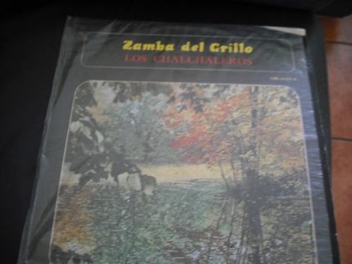 Vinilo Lp De Los Charchaleros Zamba Del   Grillo (u520