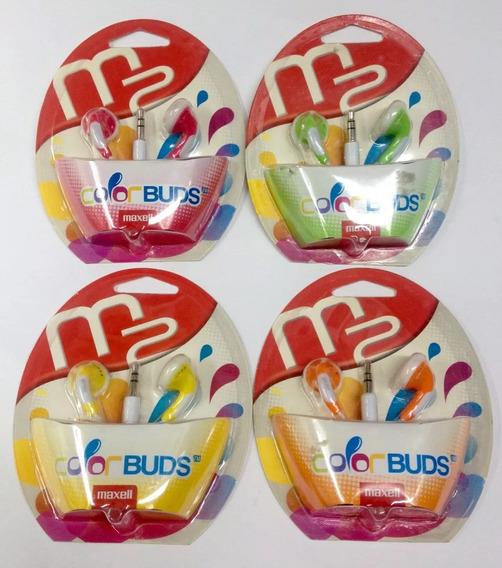 Audífono Maxell Color Buds Originales