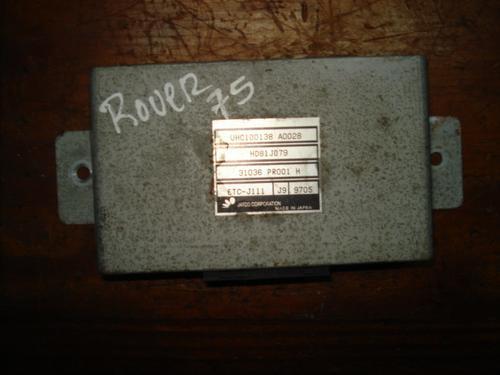 Imagen 1 de 3 de Computadora De Rover 75 Del 2000, # Uhc100138 A0028