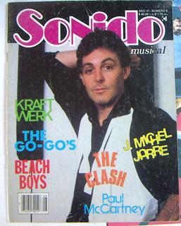 Revista Sonido, Paul Maccartney, Beach Boys, Robert Wyatt