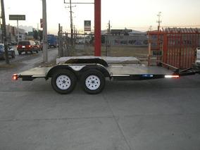 Remolque Plataforma Car Hauler Camioneta Cuatrimoto Mty 18