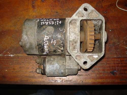 Imagen 1 de 4 de Motor De Arranque De Nissan Sentra I, Para Piezas