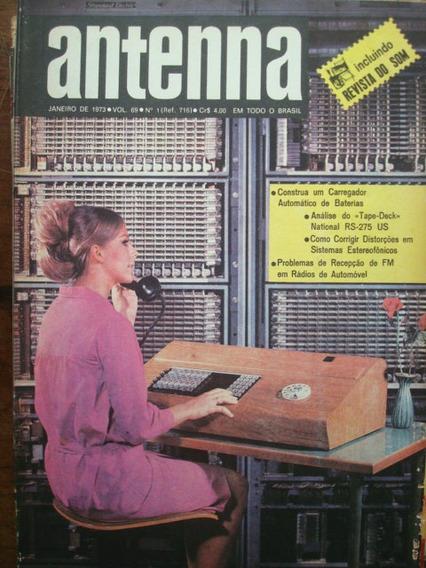 Revista Antenna Vol 69 No.1 Janeiro De 1973