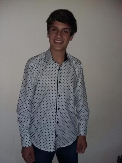 Camisa Masculina Social Slim