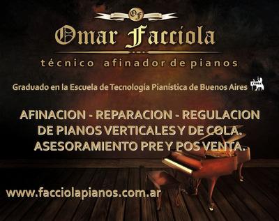 Afinador De Pianos /bs As Y Caba Atendemos En Cuarentena!!