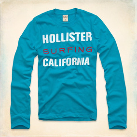 Camiseta Masculina Hollister Blusa Frio Casaco Abercrombie