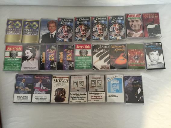 Colección Lote Vintage Cassettes Importados Surtido Navidadh