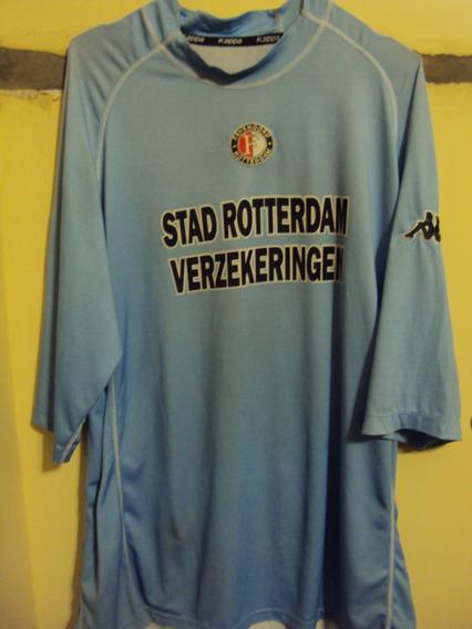 Camiseta Feyenoord Holanda Kappa 2003 #20 De Haan Selección