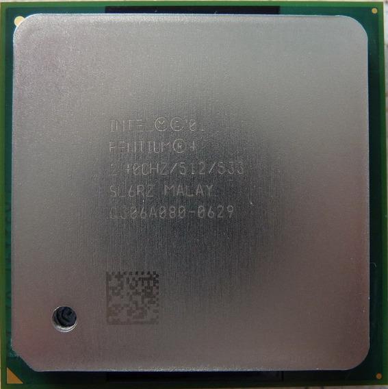 Processador Dell 600sc Intel Pentium4 2,40bghz Sl6rz