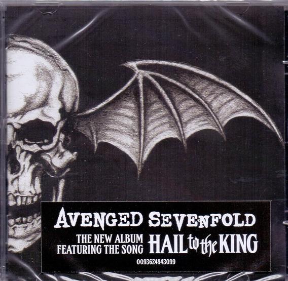 Cd Avenged Sevenfold - Hail To The King - Novo Lacrado***