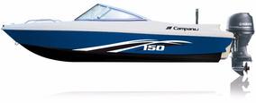 Lancha Campanili Sport Cs-150 Con Yamaha 40 Hp 2t