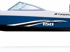 Lancha Campanili Sport Cs-150 Con Yamaha 40 Hp 2t 0km