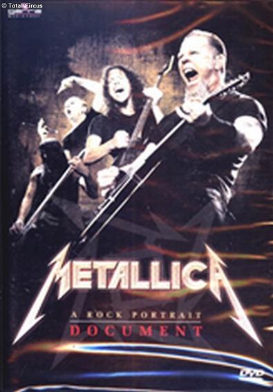 Dvd Metallica A Rock Portrait Document