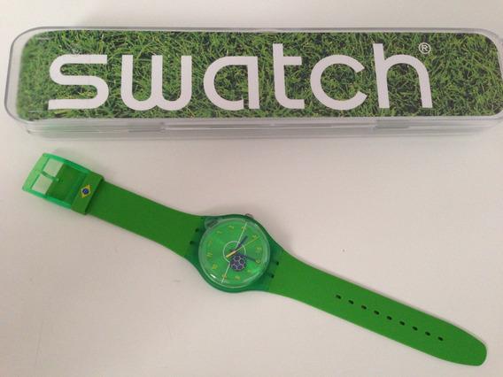 Relógio Swatch 40mm - Copa Do Mundo - Brasil