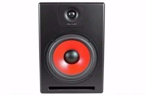 O Par Monitor De Studio Amplificado Ikey Bl M-808v2 - Bivolt