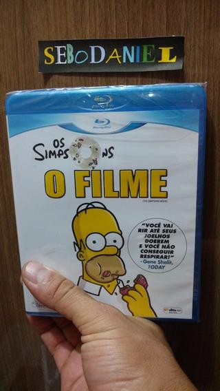 Blu-ray Os Simpsons O Filme - Original E Lacrado!
