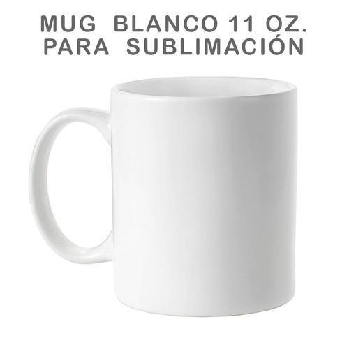 Mug Blanco Para Sublimacion