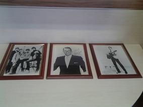 Quadros Com Fotos Antigas Elvis Presley E Sinatra