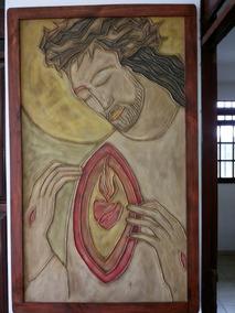Quadro Cristo Sagrado Coração