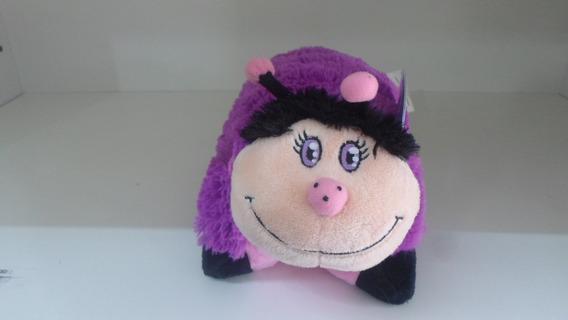 Pillow Pets Dtc Joaninha - Travesseiro Pelucia Infantil