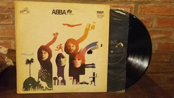 Disco Vinilo Abba, El Album.impecable De Coleccion