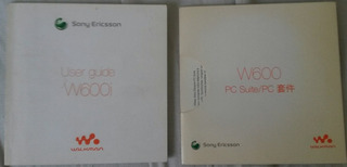 Guia De Usuario User Guide Sony W600 I