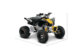 Quadriciclo Can-am Ds-90 X