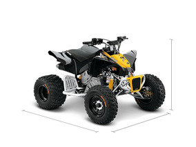 Quadriciclo Can-am Ds-90 X