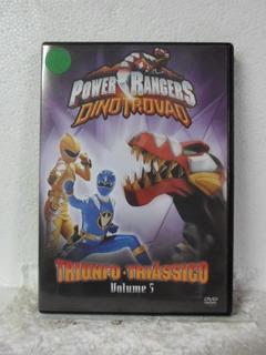 Dvd Power Rangers - Triunfo Triassico - Vol 5 - Original