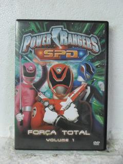 Dvd Power Rangers - Força Total - Vol 1 - Original