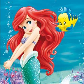 Invitaciones Para Cumpleaños De La Sirenita Ariel En Mercado