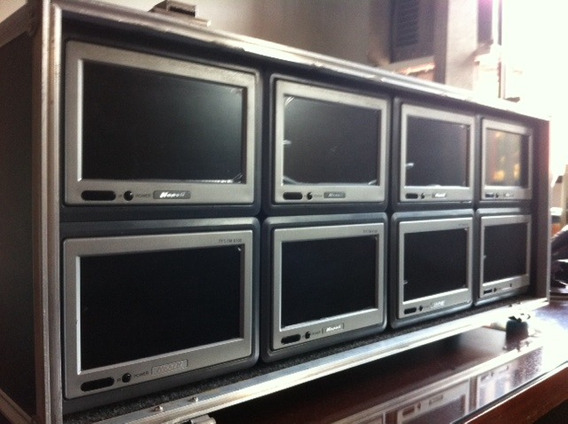 Monitores Para Video Multicamera