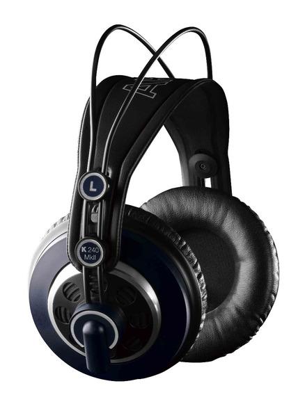 Headphone Akg Para Estúdio E Dj K240 Mkii Fone Profissional