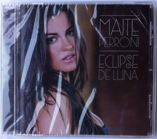 Maite Perroni. Eclipse De Luna. Cd Original, Nuevo