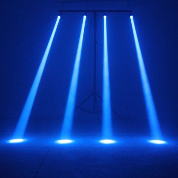 2 Unidades Canhão Pinspot Led Azul Globo Espelho Brilho 3w