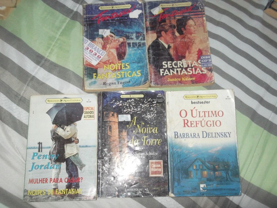 Lote 4: Romances Nova Cultural - 5 Livros
