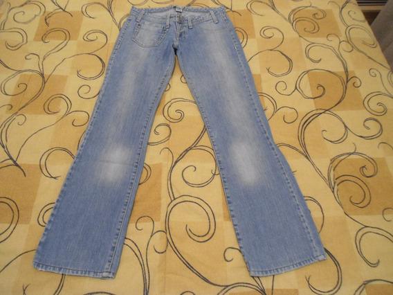 Calça Jeans Casual Khelf Tamanho 36 Azul Clara Otimo Estado