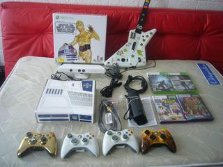 Cambio Xbox 360 Edicion Star Wars Con Juegos Cuidada