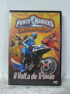 Dvd Power Rangers - A Volta Do Trovão - Original