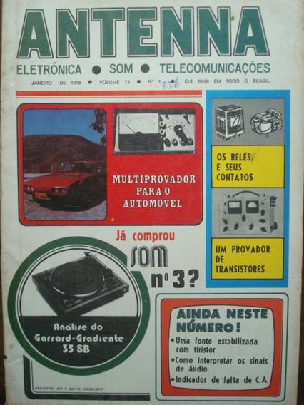 Revista Antenna Vol. 79 No.1 Janeiro De 1978