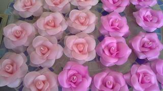 15 Velas Forma De Rosa.ceremonia De Velas.15 Años.souvenirs