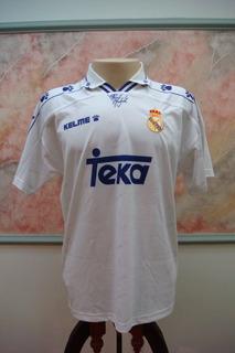 Camisa Futebol Real Madrid Espanha Kelme Antiga 789
