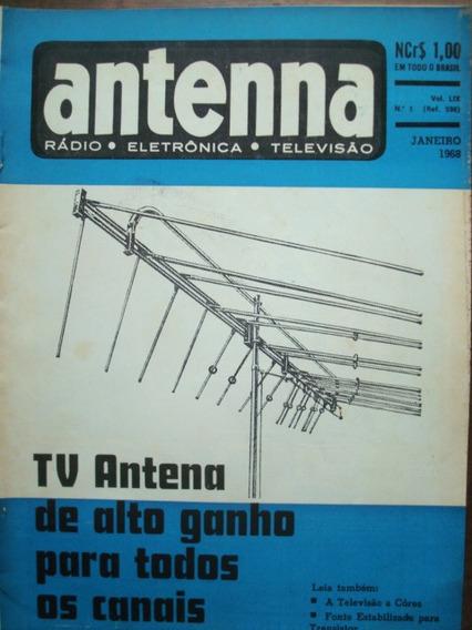Revista Antenna Vol 59 No.1 Janeiro De 1968