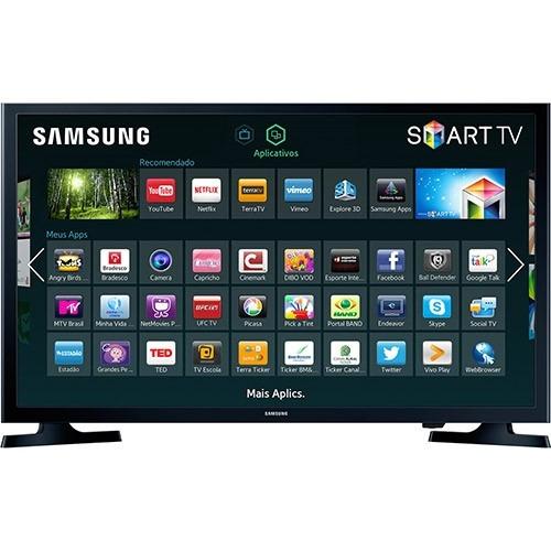 Smart Tv Led 32 Samsung Un32j4300agxzd Hd Conversor Digital