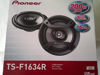 Parlante Pioneer Ts-1634s 200wts Nuevo Y Sellado, Sellado