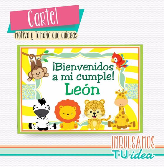 Animales De La Selva - Cartel Animales De La Selva Imprimir