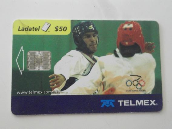 Taekwondo Box Dos Targeta Telefonicas Sidney 2000