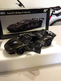 Autoart Millennium 1/18 Ford Gt Lm Spec Ii Carbon Black Test