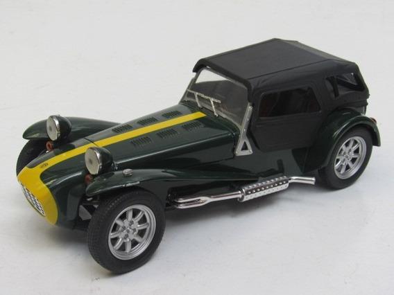 Escala 1:18 Miniatura Carrinho Lotus Super Seven Majorette